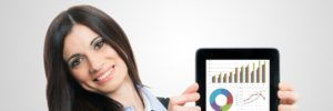 iPad v rukou obchodníků